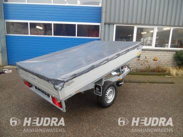 Vlakzeil voor Anssems Basic LT 305x150cm plateauwagen / kipper