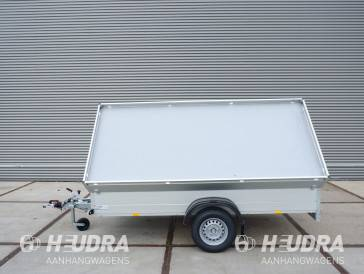Anssems bagagewagen met zijwaarts scharnierende deksel