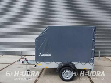 Showroommodel geremde Anssems GT 750kg 211x126cm bakwagen met huif