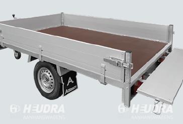 Anssems PSX 750kg 251x153cm plateauwagen