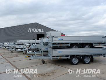 Hulco aanhanger Medax plateauwagen