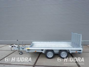 Hulco Terrax-2 3000kg 294x150cm machinetransporter korte klep
