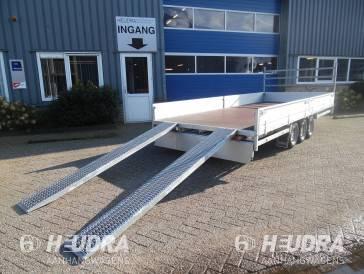Aluminium oprijplaten voor Hulco Medax plateauwagen