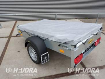 Humbaur 205x109x30cm bakwagen met vlakzeil