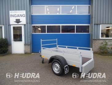 bakwagen 500kg van aluminium 181x101cm