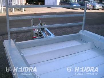 Wielstop 150cm (breedte) voor een Hulco Terrax machinetransporter