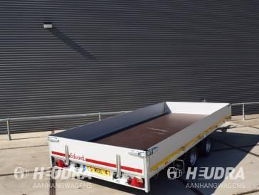 Eduard plateauwagen 406x180cm in diverse uitvoeringen leverbaar