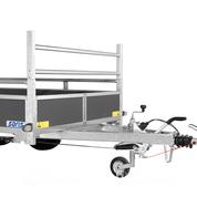 Voorrek voor Saris McAlu 133cm (breedte) bakwagen