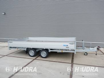 Hulco Medax-2 3000kg 405x223cm plateauwagen