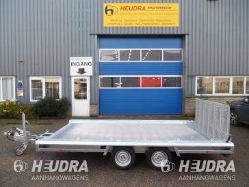 Hulco 3000kg 394x180cm machinetransporter korte klep